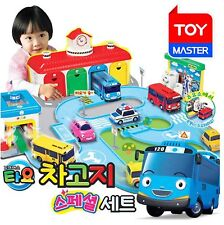 Little Bus Tayo GARAGE SPECIAL SET-Central Garage, Car Wash, Gas Station & Songs