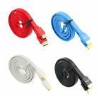 Premium Flat Noodle HDMI Cable HighSpeed For Audio 3D DVD HDTV 1.5m 3m 5m Lot FS