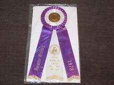 American Kennel Club 1978 Rockville Centre Ny Cocker Spaniel Club Ribbon Award