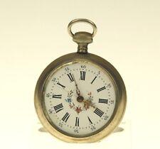 Rare BEAUCOURT Taschenuhr Schlüssel Herren Uhr Uhren pocket watch no spindel