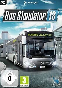 Bus Simulator18 PC Game Offline S Team Fast Post UK Great Condition