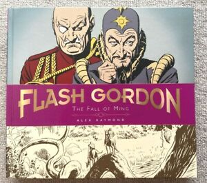 FLASH GORDON: THE FALL OF MING BY ALEX RAYMOND HARDCOVER SUNDAY STRIPS 1941-1944