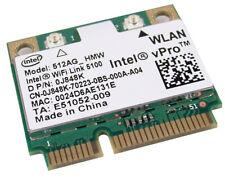 Intel vPRO WiFI Link 5100 WLAN AGN Mini PCIe 512AG-HM