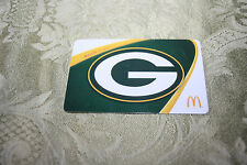 MCDONALD'S GREEN BAY PACKERS ARCH CARD NO$VALUE 2014