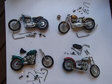 "vintage Triumph 10"" motorcycle model collection chopper bobber drag racing LOOK!"