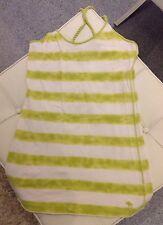 Abercrombie & Fitch A&F T-Shirt Top Grün Weiß Shirt Logo Pink sehr weich Gr M 38