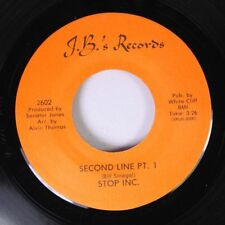 Jazz New Orleans 45 Stop Inc. - Second Line Pt. 1 / Second Line Pt. 2 On J.B.'S