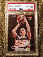 2004 Ultra WNBA #91 Diana Taurasi RC Phoenix Mercury Rookie PSA 8.5  NM-MT+