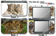 Baby Tiger Cute Skin Vinyl Sticker Cover Decal #1 for NEW Nintendo 3DS XL (2015)