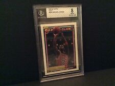 "1992-93 Michael Jordan Topps ""Gold"" #205G  BGS 8 NM-MT"