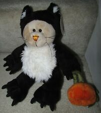 Starbucks Bearista 41th Edition 2005 Black Cat Halloween Bear NWT with Tags