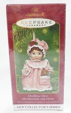 Hallmark keepsake christmas ornament mistletoe miss