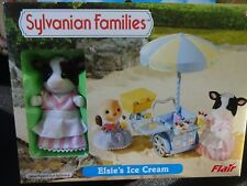 SYLVANIAN FAMILIES FLAIR NEW BOXED SEALED ELSIE;S ICE CREAM & FIGURE XMAS! (2)