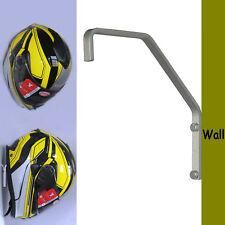 Helmet Hanger Wall Mount Display Rack for Motorbike/Hockey/Baseball/Bat Helmet