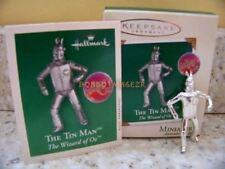 Hallmark 2002 The Tin Man Wizard of Oz Miniature Christmas Ornament
