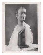 PHOTO MANNEQUIN FEMME NOVITA Surréalisme Surréaliste Tête 1950 Buste Mode Nu