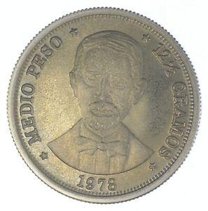 1978 Dominican Republic 1/2 Peso - TC *812