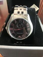 EMPORIO ARMANI Black Dial Stainless Steel Bracelet Men's Watch AR1706