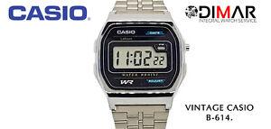 """Vintage Casio B-614W Aka ·"""" Wr """" QW.1070 Year 1990"""