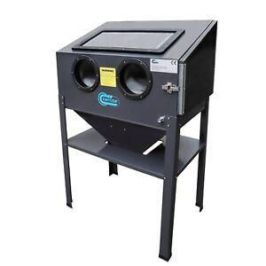 Switzer Magnum Sand Blaster Cabinet - 220L Sand Blasting Grit Bead Sandblaster