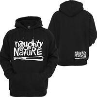 Naughty By Nature Pullover Hoodie RUN DMC 2PAC East Coast Rappers Sweatshirt