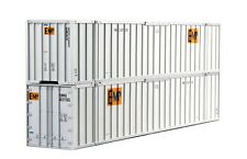 HO Scale KATO 53ft. Intermodal Containers 'EMP' (2) Item #30-9022