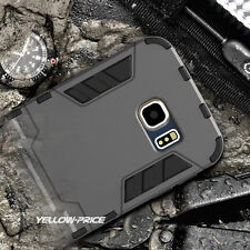 Rugged Hybrid Armor Case Dual Cover+Kick-Stand For Samsung Galaxy S6 Edge+ Plus
