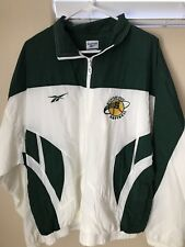Vintage Womans Michigan State Softball Reebok Pullover Jacket Size Adult Large