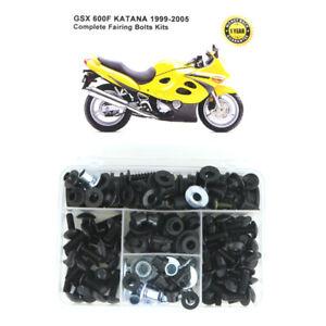 and Hardware GSX750F Katana 1998-2002 Body Screws Standard Motorcycle Fairing Bolt Kit For Suzuki GSX600F Fasteners