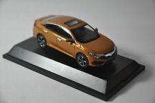 Honda Civic 10th Generation car model in scale 1:43 Orange