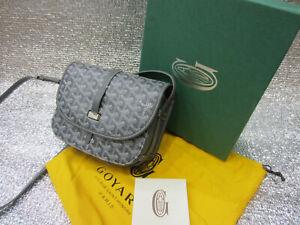 GOYARD Goyardine Belvedere II 2 PM Messenger Bag Grey Pre-owned