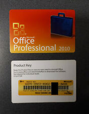 Microsoft Office Professional 2010 PKC 1PC   Vollversion 32bit + 64bit