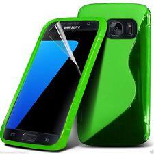 Calidad Ultra Slim Duro Choque Protección S-GEL Piel Funda de Teléfono ✔ Verde