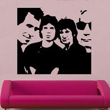 Rolling Stones Decal Vinyl Wall Sticker Art Celebrity Famous