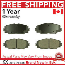 FRONT CERAMIC BRAKE PADS TOYOTA RAV4 2-ROW SEATING 2006 2007 2008 2009 2010 2011