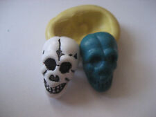 Small skull 18mm Halloween Silicone flexible mold for chocolate fondant clay