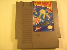 NES Nintendo Game TO THE EARTH [Y74i]