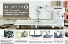Juki TL-2010Q Top of the line Quilting Sewing Machine  NEW with Bonus