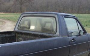VW Caddy 1 Heckscheibendichtung Scheibendichtung  Dichtung Heckscheibe Bj 82-93