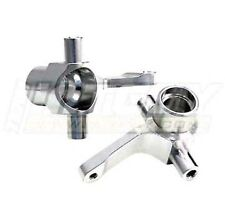 T8103SILVER Integy Alloy Steering Blocks for HPI Wheely King