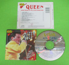 CD QUEEN Who Wants To Live Forever 1993 Eu VIVA CD 7510 no lp mc dvd  (XS12)