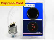 VDO 12v DIGITAL TURBO BOOST GAUGE + SENDER  4WD AUTOMOTIVE