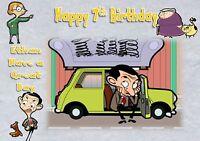 personalised birthday card mr bean daughter son grandson birthday card a
