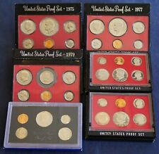 Proof Set Lot - Year Variety of United States Mint Proof Sets- Free Shipping USA