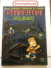 Bart Simpson's Treehouse of Horror Heebie-Jeebie Book, Supplied by Gaming Squad