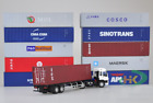 1:50 Transport Container Model K Line Cosco International Shipping Freight Toy