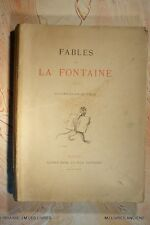FABLES DE LA FONTAINE (1068LF.5) ILLUSTR. VIMARD EDITIONS MAME ET FILS 1897