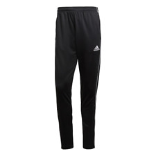 Mens Adidas Tracksuit Bottoms Trouser Pants Football Training Jogging Black Navy