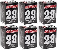 """6x Kenda 29"""" MTB Tube 29x1.9/2.3 48mm F/V Valve 29er 247grams Tubes TUBE966L"""