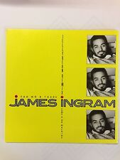 """JAMES INGRAM - YA MO B THERE: 7"""" VINYL SINGLE IN A PICTURE SLEEVE"""